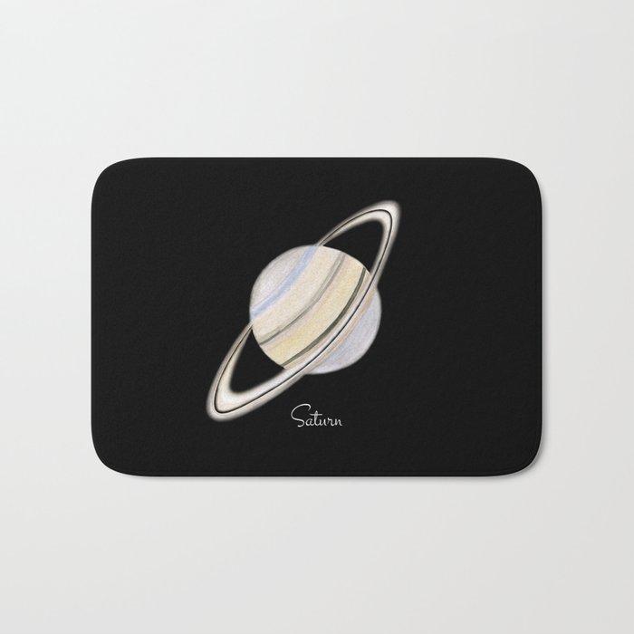 Saturn #2 Bath Mat