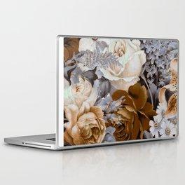 wintery floral Laptop & iPad Skin