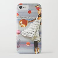 bonjour iPhone & iPod Cases featuring bonjour by Gina Geo