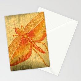 Orange Grasshopper Stationery Cards