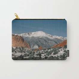 Snowy Mountain Tops Carry-All Pouch