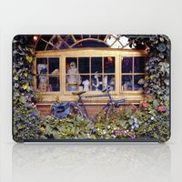 cycle iPad Cases featuring cycle cycle by kotovska