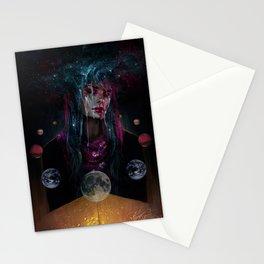 Cosmic Rain Stationery Cards