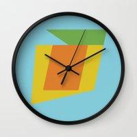 rio Wall Clocks featuring Rio by Magic Window