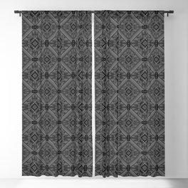 NEGRO SOBRE BLANCO Blackout Curtain