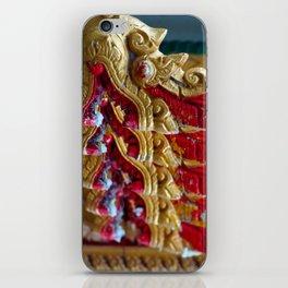 Temple Dragons Vientiane Laos iPhone Skin