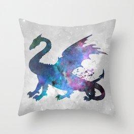 Galaxy Series (Dragon) Throw Pillow