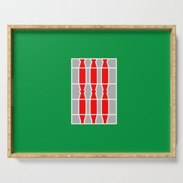 flag of Umbria Serving Tray