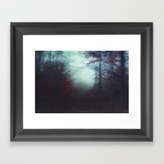 Secret WoodLands Framed Art Print
