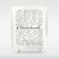 Massachusetts Shower Curtain