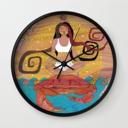 Cancer, The Crab Wall Clock