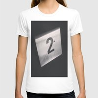 number T-shirts featuring Number 2 Table Number by Redhedge Photos