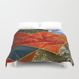 Abstract #330 Duvet Cover