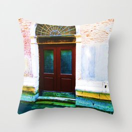 Front Lawn Throw Pillow