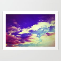 Cluster of Clouds Art Print