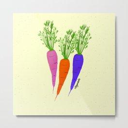 Zanahorias Metal Print