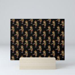 Sloth Freddy Mini Art Print