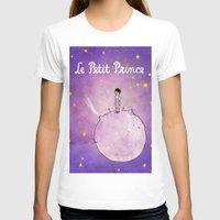 le petit prince T-shirts featuring Le Petit Prince by Josh Abraham
