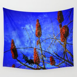 Sumac in Bloom Wall Tapestry