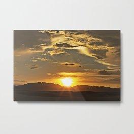 White Sands XIV Metal Print
