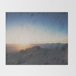 mountain road ... Throw Blanket