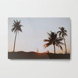 palm trees xvi / bali Metal Print