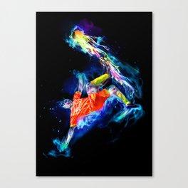 Spirit - Soccer Canvas Print