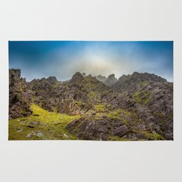 Lost in mountains Carrantouhill | Ireland Rug