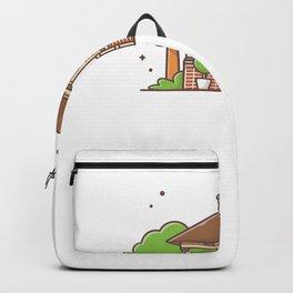 City park gazebo Backpack