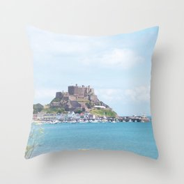 Elizabeth Castle Throw Pillow