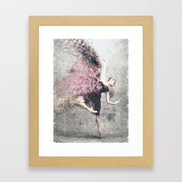 Dancing on my own Framed Art Print