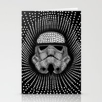 trooper Stationery Cards featuring Trooper Star Circle Wars by Msimioni