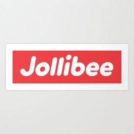Jollibee Box Logo Art Print