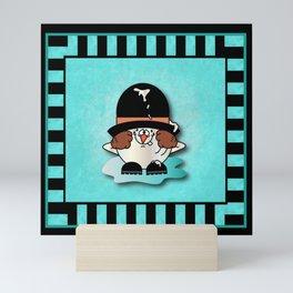 Snowball Guy Three Mini Art Print