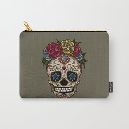 """SUGAR SKULL"" Carry-All Pouch"