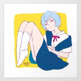 Ayanami Art Print