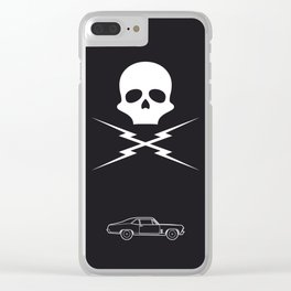Stunt Mike Clear iPhone Case