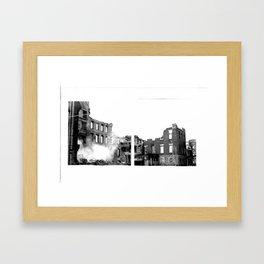 DUPLICITY / 04 Framed Art Print