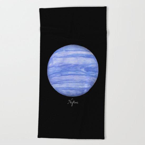 Neptune #2 Beach Towel
