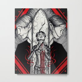 Blood mage Metal Print