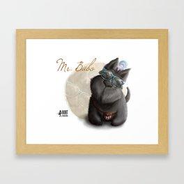 Mr. Bubo Framed Art Print
