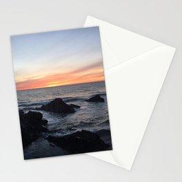 Sunset over Putsborough Stationery Cards