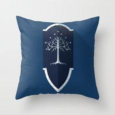 Shield of Gondor Throw Pillow