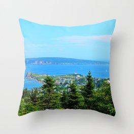 Bonaventure Island Throw Pillow