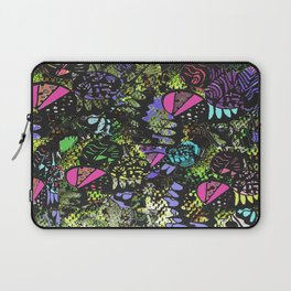 Quirky Patches by Enkhzaya Enkhtuvshin Laptop Sleeve