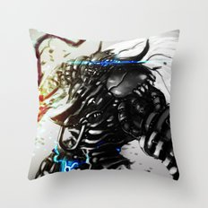 Zodiac  Taurus Throw Pillow