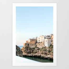 Polignano a Mare, Bari in Puglia Italy Art Print
