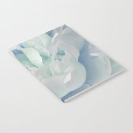 Peony in Blue White Notebook