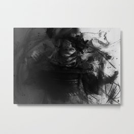 And Cloaked Fangs Metal Print