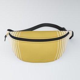 Marigold & Crème Vertical Gradient Fanny Pack